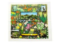 THE PRINTED IMAGE 【ザ プリンティッド イメージ】NATURE FACTS BANDANAS *DESERT WILD FLOWERS