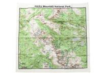 THE PRINTED IMAGE【ザ プリンティッド イメージ】NATURE FACTS BANDANAS *Rocky Mountain National Park
