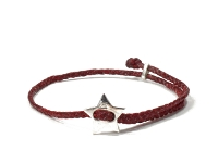 SCOSHA【スコーシャ】SIGNITURE STAR BRACELET #SB13.2 *RED