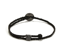 SCOSHA【スコーシャ】SIGNATURE BRIAN SLIDER BRACELET #SB4.3 *OX BLACK