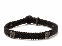 SCOSHA【スコーシャ】BRIAN RIVET BRACELET #MB141 *BLACK OX